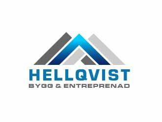 Hellqvist Bygg & Entreprenad logo design
