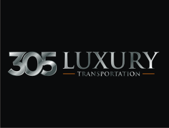 305 Luxury Transportation  logo design
