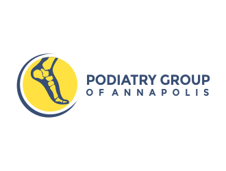 Podiatry Group of Annapolis, PA logo design