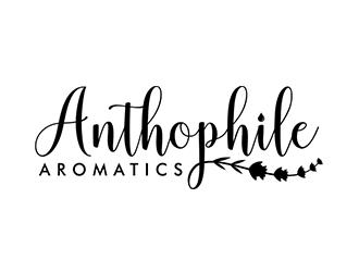 A N T H O P H I L E Aromatics  logo design