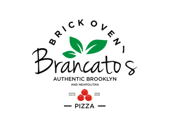 Brancatos Brick Oven Pizza logo design