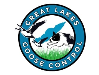 Great Lakes Goose Control logo design