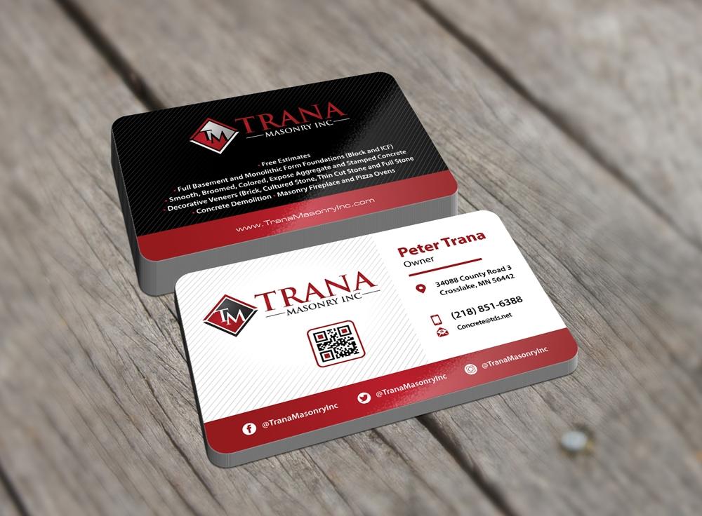 Trana masonry inc brand identity design 48hourslogo trana masonry inc logo design concepts 22 colourmoves
