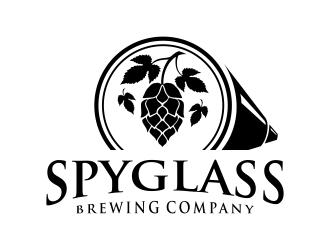 Spyglass Brewing Company logo design