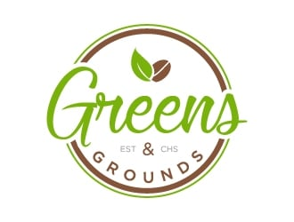 Greens & Grounds logo design