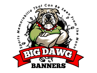 Big Dawg banners logo design