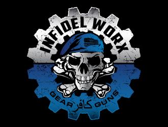Infidel Worx logo design