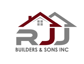 RJJ Builders & Sons Inc logo design