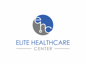 Elite Healthcare Center logo design