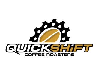 Quick Shift Coffee Roasters logo design