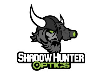 Shadow Hunter Optics logo design