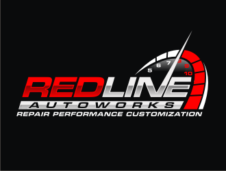RedLine Autoworks logo design