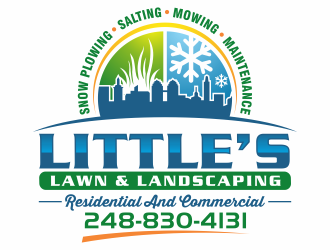 Little's Lawn & Landscaping  logo design