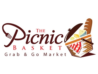 The Picnic Basket logo design