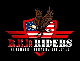 Red Riders logo design