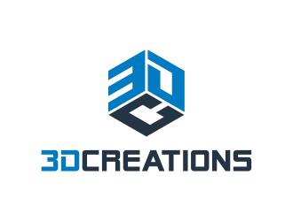 3D Creations logo design