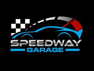 Speedway Garage Logo Design 48hourslogo Com