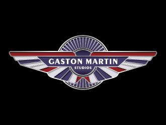 Gaston Martin Studios logo design