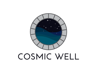 Cosmic Well logo design
