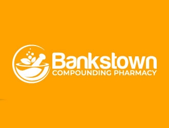 Caring Compounding Pharmacy logo design