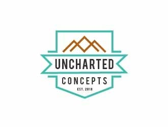Uncharted Concepts logo design
