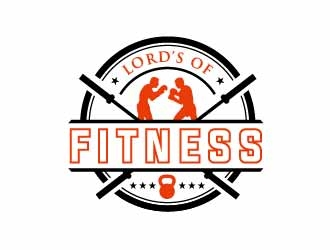 LORDS OF FITNESS logo design