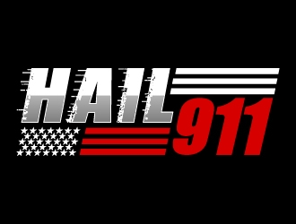 Hail 911 logo design