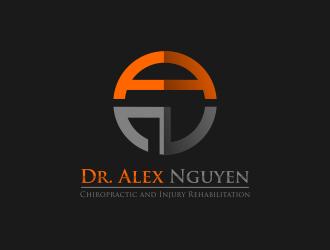 Dr. Alex Nguyen logo design