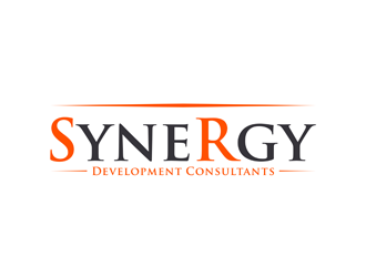 Synergy development consultants logo design for Design and development consultants
