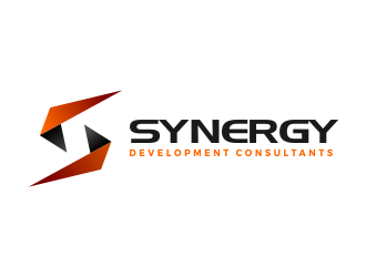 Synergy development consultants logo design for Design and development consultants