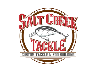 Salt Creek Tackle logo design