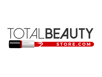 Total Beauty Store (www.totalbeautystore.com) logo design