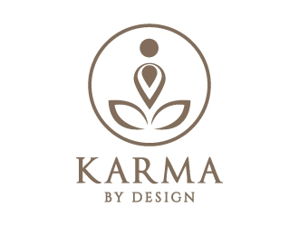 Karma by Design logo design