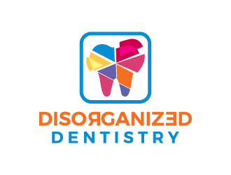 Disorganized Dentistry logo design