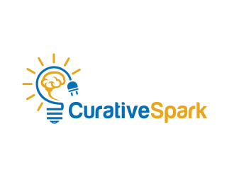 Curative Spark  logo design