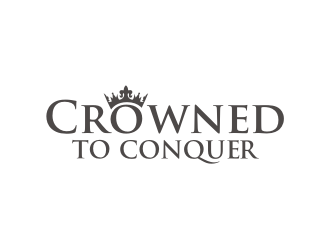 Crowned to Conquer logo design