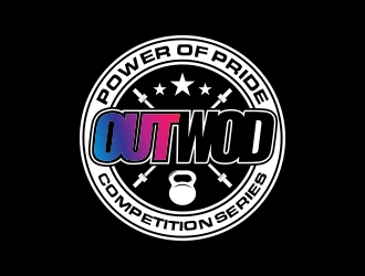 OUTWOD Power of Pride Competition Series logo design