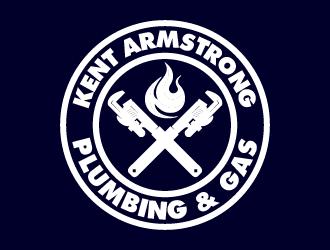 Kent Armstrong Plumbing & Gas logo design