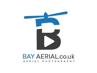 Bay Aerial / www.bayaerial.co.uk logo design