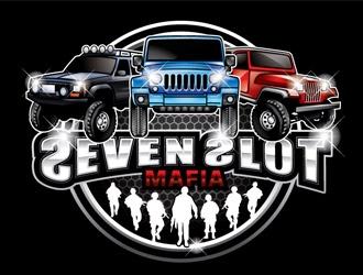 Seven Slot Mafia logo design