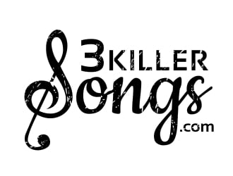 3 Killer Songs .com logo design