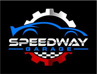 Speedway Garage logo design