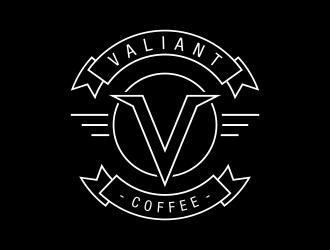 The Valiant logo design