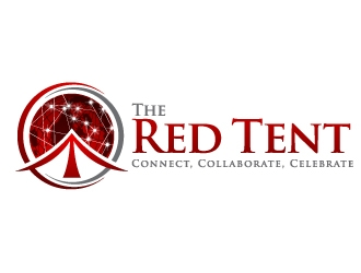 The Red Tent logo design