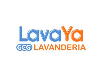 LAVAYA ECO LAVANDERIA logo design