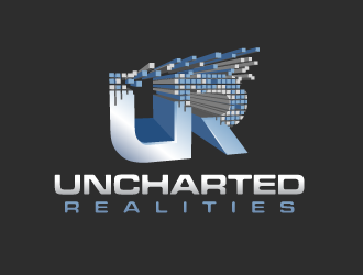 Uncharted Realities  logo design