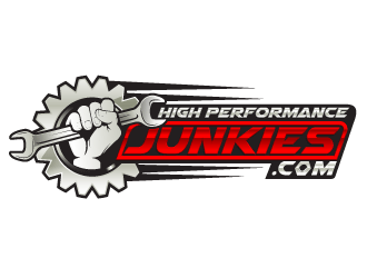 Highperformancejunkies.com logo design