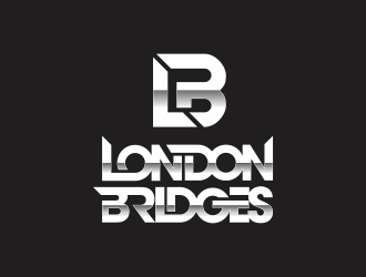 DJ London Bridges logo design