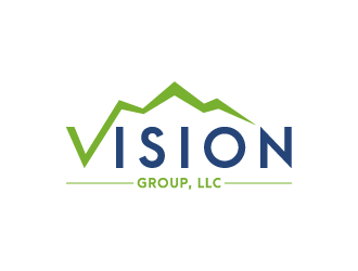 Vision Group, LLC logo design