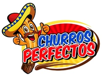 Churros Perfectos  logo design